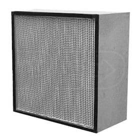 Flanders Alpha Cell-E - 24'' x 24'' x 11.5'' - High Capacity HEPA Filter - 99.97% Efficiency