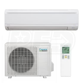 Daikin - 12k BTU Cooling + Heating - LV-Series Wall Mounted Air Conditioning System - 23.0 SEER