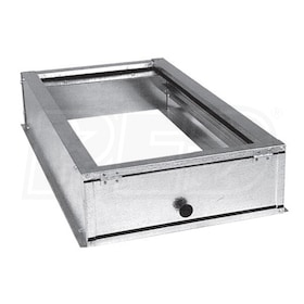 "Goodman External Horizontal Filter Rack - 16"" x 25"" x 2"""