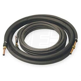 "Mueller 50' Length - Ductless Mini Split Line Set - 1/4"" x 5/8"" Flare Connections - 3/8"" Insulation"