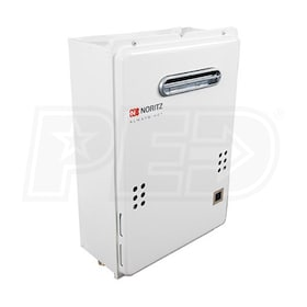 Noritz NRC711 - 4.9 GPM at 60° F Rise - 0.94 EF - Gas Tankless Water Heater - Outdoor