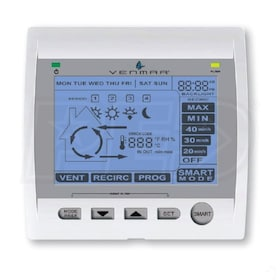 Venmar Altitude - Four Mode - Main Wall Control - 24v Line Voltage