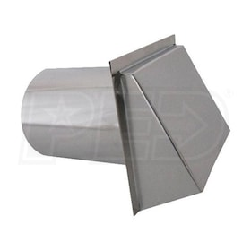 "Clean Comfort 6"" - Supply & Exhaust Hood - Metal"