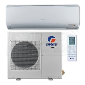 Gree - 12k BTU Cooling + Heating - Terra Wall Mounted Air Conditioning System - 25.0 SEER