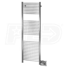 "Amba Antus A 2056 P A-2056 Electric Towel Warmer, Polished, 20""W x 56""H x 3-1/4""D - 1,364 BTU"