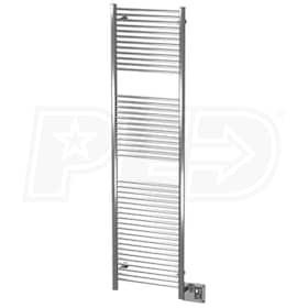 "Amba Antus A 2072 B A-2072 Electric Towel Warmer, Brushed, 20""W x 72""H x 3-1/4""D - 1,807 BTU"