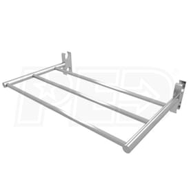 "Amba Jeeves Shelf Bar AJ-SBP, Polished - 7""D"