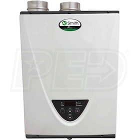 A.O. Smith - 160k BTU - Condensing Tankless Water Heater - Indoor - NG - 4.0 GPM - 0.95 EF