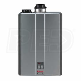Rinnai C199 - 6.3 GPM at 60° F Rise - 96% Eff. - Gas Tankless Water Heater - Direct Vent