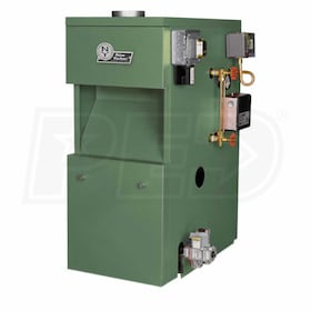 New Yorker CGS30C - 42K BTU - 81.4% AFUE - Steam Gas Boiler - Chimney Vent