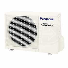 Panasonic - 9k BTU - Outdoor Condenser - Single Zone Only