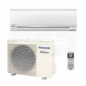Panasonic - 12k BTU Cooling + Heating - Exterios E ECONAVI Wall Mounted Air Conditioning System - 20.0 SEER