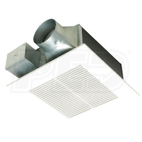 "Panasonic WhisperFit EZ - 110CFM - Bathroom Exhaust Fan - Ceiling Mount - 3"" or 4"" Duct"
