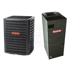 Goodman - 3 Ton Cooling - Air Conditioner & Air Handler Package - 14 SEER - Multi-Position