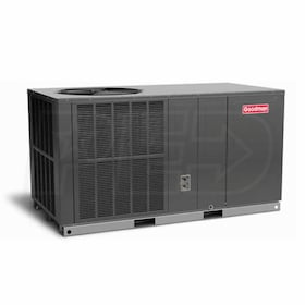 Goodman GPH16H - 4.0 Ton - Packaged Heat Pump System - 16.0 SEER - 8.0 HSPF - Horizontal - 208-230/1/6