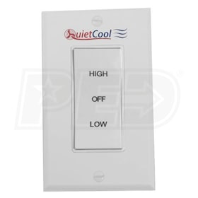 QuietCool Two Speed Control Switch