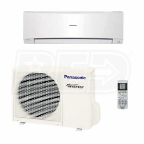 Panasonic - 18k BTU Cooling + Heating - Wall Mounted Air Conditioning System - 16.0 SEER