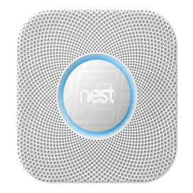 Nest Protect 2nd Generation - Smoke and Carbon Monoxide Alarm - Direct Wired - 120V - White