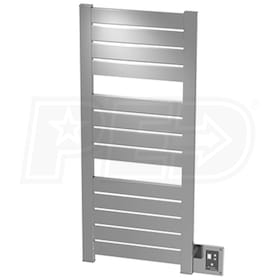 "Amba Vega V 2352 B V-2352 Electric Towel Warmer, Brushed, 23""W x 52""H x 3-1/4""D - 1,262 BTU"