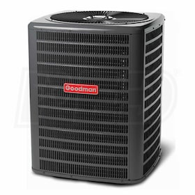 Goodman GSX16 - 5 Ton - Air Conditioner - 16 Nominal SEER - Single-Stage - R-410A Refrigerant