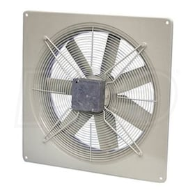 Fantech FADE - 304 CFM - Side Wall Exhaust Fan - Wall Mount - 115V - 1 Phase - Fan Only