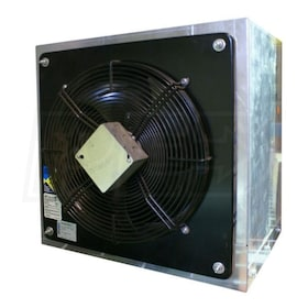 Fantech FADE - 4,949 CFM - Side Wall Exhaust Fan - Wall Mount - 115V - 1 Phase - Assembled Housing and Damper