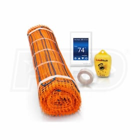 Watts Radiant HeatWeave - 30 Sq. Ft. - Radiant Floor Heating Mat Kit - 120V