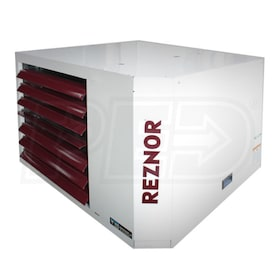 Reznor UDAP-150 Power Vented Gas Fired Unit Heater - LP - Aluminized Heat Exchanger - 150,000 BTU