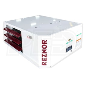 Reznor UDAS-125 Gas Fired Unit Heater, Separated Combustion, NG, Aluminized Heat Exchanger - 120,000 BTU