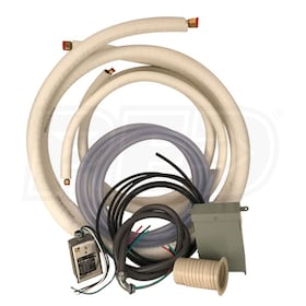 "eComfort.com Mini Split Installation Starter Kit - 25' Long - 3/8"" x 5/8"" Line Set"