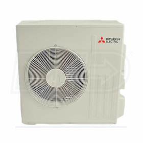 Mitsubishi - 18k BTU - GL-Series Outdoor Condenser - Single Zone Only
