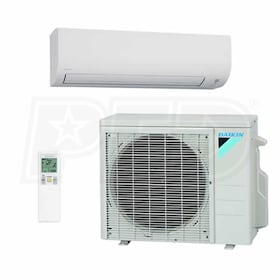 Daikin - 9k BTU Cooling Only - 15-Series Wall Mounted Air Conditioning System - 15.0 SEER