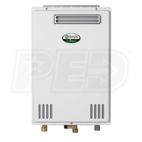 AO Smith ATO-110U - 3.9 GPM at 60° F Rise - 0.82 EF - Gas Tankless Water Heater - Outdoor