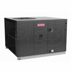 Goodman GPD14 - 2.5 Ton - 28,000 BTU Heating - Packaged Furnace + Heat Pump Unit - 14.0 SEER - 8.0 HSPF - Downflow/Horizontal - 208-230/1/60
