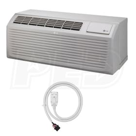 LG - 9k BTU - Packaged Terminal Air Conditioner (PTAC) - 4.7 kW Electric Heat - 208-230V