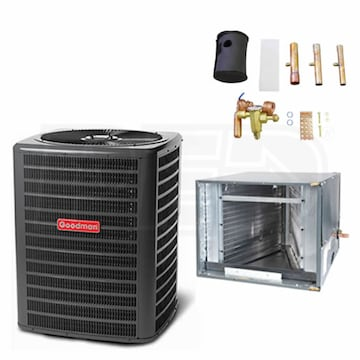 Goodman GSX1318CHPF1824A6 H 1 5 Ton Air Conditioner Coil Kit 13 0 SEER 14 Inch Coil Width For Horizontal Installation