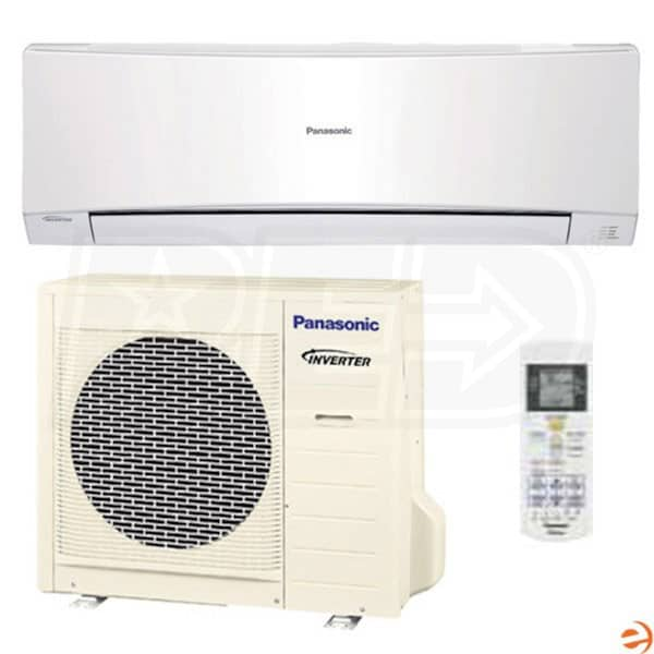panasonic heating and cooling s12nkua panasonic 12 000 btu wall mounted ductless air. Black Bedroom Furniture Sets. Home Design Ideas