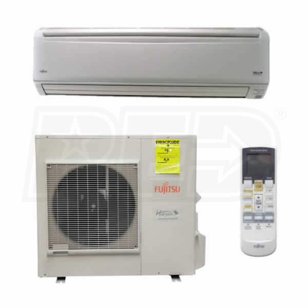 Fujitsu 30rlxb 30k Btu Cooling Heating Rlxb Wall