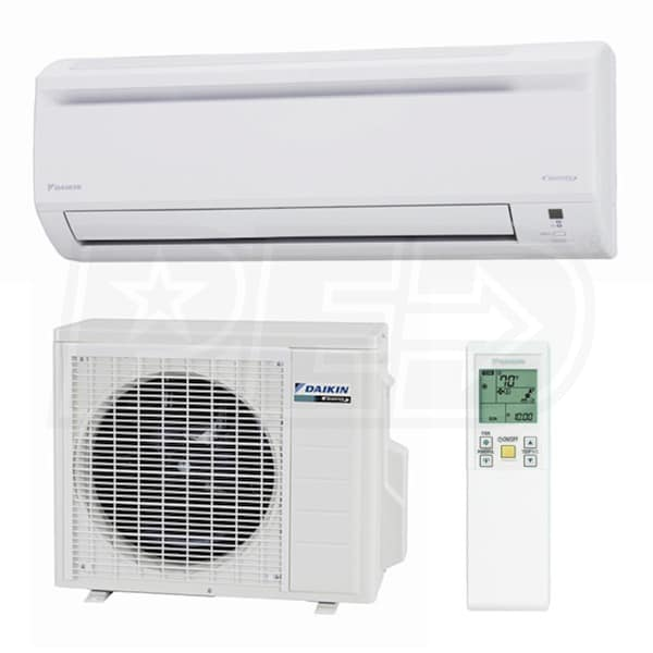 daikin kn15kevju ke series 15 000 btu ductless air conditioning system wall mounted 18 seer. Black Bedroom Furniture Sets. Home Design Ideas
